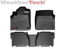 WeatherTech FloorLiner - Toyota Tundra CrewMax - 2012-2013 - Black