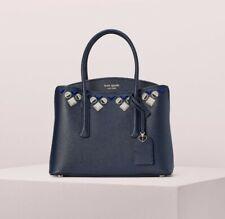 Kate Spade Margaux Jeweled Ladies Blazer Blue Leather Satchel Bag Pxrua351429