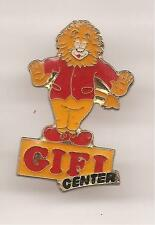 Pin's pin MAGASIN GIFI CENTER LE LION EN EQUILIBRE (ref H41)