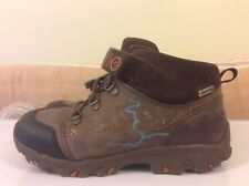 Star Rite Kids Waterproof Leather Winter Boots Size UK 11 Good Used Condition