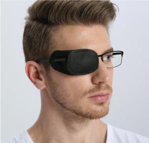 6pcs Eye Patch for Glasses to Treat Lazy Eye/Amblyopia / Strabismus Black New
