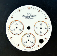 IWC Schaffhausen cronografo originale quadrante bianco 24 mm