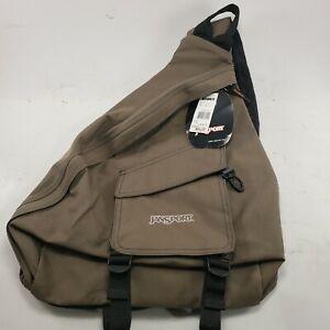 Jansport Padded Sling 1 Strap OD Green Backpack Bag Crossbody Messenger Bugout