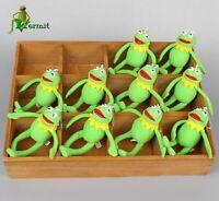Muppets Kermit the Frog Plush Doll Toy keychain keyring Pendant  Holiday Gift