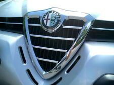 Chromstreben für Alfa Romeo 156 Kühlergrill Grill Scudetto Chrom Tuning