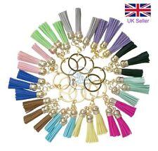 Porte-clés multicolore en cuir pour femme