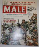 Male Magazine Hold Toktong Pass To The Last Man November 1962 091814R