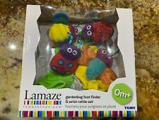 Lamaze Gardenbug Foot Finder And Wrist Rattle Set Unisex
