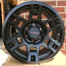 "17"" Matte Black Wheels - Toyota Tacoma, 4Runner, Fj Cruiser Sema Pro (set of 4)"