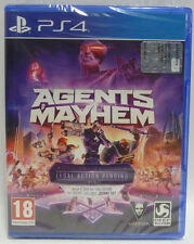 AGENTS OF MAYHEM DAY ONE EDITION - SONY PS4 - NEW SEALED - PLAYSTATION 4