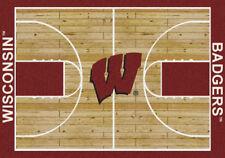 """4x6 Milliken Wisconsin Badgers Ncaa Home Court Area Rug - Approx 3'10""""x5'4& #034;"""