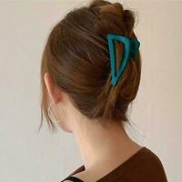 Women Hair Claw Clamps Large Hair Clip Matte Shark Fashion Hairpin I2B7
