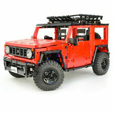 Jeep Wrangler Suzuki Jimny Sierra Adventurer Technic Car MOC kit Building Blocks
