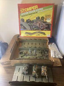 VTG 1984 Schaper Stomper Action Track System Mobile Force Assault Team Set As-Is