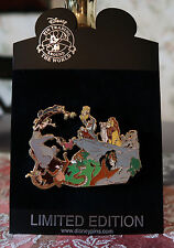 DISNEY THE JUNGLE BOOK meets THE LION KING LE 500 JUMBO Pin New On Card SIMBA