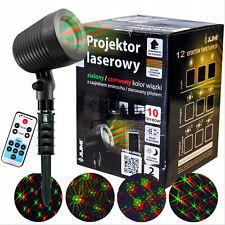JUMI Laser Light Projector Outdoor Indoor Timer Remote Control 12 IN 1