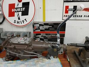 Hurst Ford Mustang 1965-1973 3 Speed MasterShift Shifter & Linkage Kit,free boot