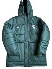 Michigan State University Nike Unisex Green Winter Coat