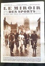 Miroir des Sports 13/11/1928; Grand Prix de l'Armistice/ Autobus Cylindrique