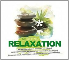 ESSENTIALS-RELAXATION 2 CD NEUF