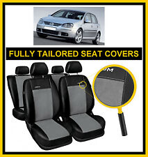 VOLKSWAGEN GOLF Mk5 2003 - 2009 FULLY TAILORED SEAT COVERS  full set LEATHERETTE