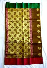 Rvold Regular Wear Traditional Handloom Cotton Silk Saree 6