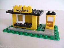 Lego 608 Vintage Town Legoland Kiosk Building 1971 - Complete Set*