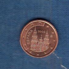 Espagne - 2006 - 2 centimes d'euro - Pièce neuve de rouleau -