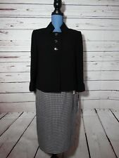 Tahari Arthur Levine 2 Pc Skirt Suit Size 8