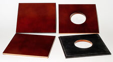 """1 Lens Board 5""""x 5"""" (127x127mm) for CENTURY 8x10 made of 1/4"""" plywood, free hole"""