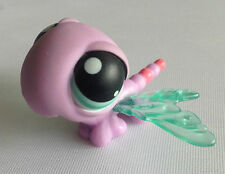 Littlest Pet Shop - RARE - 1st Gen - Purple Dragonfly  - Blue Eyes - No 316