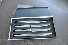 Chroma Type 301 Steak Knife Set of 4 Pieces P16, Design by F.A. Porsche, New