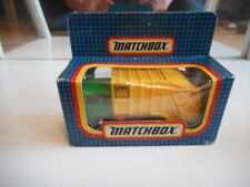 Matchbox Refuse Truck in Green/Yellow in Box