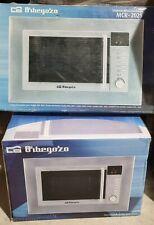 Orbegozo Einbau Mikrowelle mit Grill Microwelle Digital Edelstahl 800 W 20L D...
