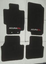 FITS FOR 2004-2008 ACURA TL CARPET FLOOR MATS BLACK W/Emblem