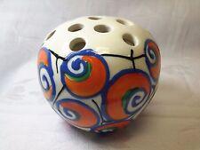 Czechoslovakia Hand Painted Art Deco  Pottery produced by Ditmar Urbach Co.
