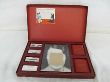Rare Physogs 1930's Vintage Photomechanical ID Game Waddy Productions Complete