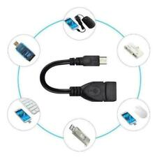 Micro USB Cable Male Host to USB Female OTG Adapter Phone Android PDA Ta PC M1X9