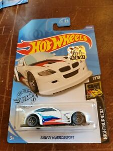 2020 Hot Wheels Factory Sealed Set Bmw Z4 M Motorsport White Color