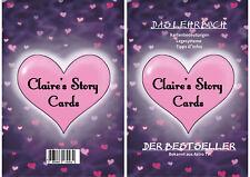 Das Lehrbuch Claires Story Cards 1 TV BEKANNT Tarot Lenormand Oracle neu new