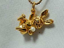 Rabbit Pendant Necklace with 14 inch chain Comes with gift box
