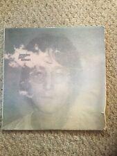 Vintage Pre Owned John Lennon Imagine Vinyl Album.  Shows Wear.  See pictures.