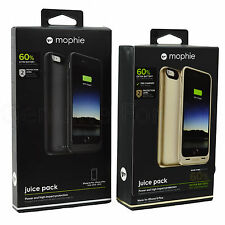 Genuine Mophie 2600mAh iPhone 6 Plus 6S plus External Battery Charger Case Cover