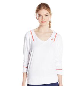 Asics Women's Spring Athlete Long Sleeve Top Tennis Shirt 121695 Size XL