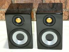 Pair Monitor Audio Radius 90 Gloss Black Home Cinema Surround Sound Loudspeakers