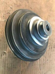 "DELTA ROCKWELL 15"" DRILL PRESS SIX STEP MOTOR PULLEY 5/8"" BORE 6X6 MODEL 15-665"