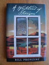 Bill Pronzini A Wasteland for Strangers 1st ed SIGNED Near Fine