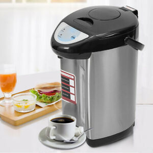 Electric Water Boiler Dispenser 5.8L Urn Hot Water Kettle Fast Boiling Black Tap