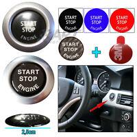Adhesivo pegatina botón arranque start stop de 2,5cm compatible con Bmw X3 X4