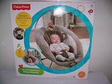 FISHER PRICE BABY MY LITTLE SNUGAMONKEY DELUXE  BOUNCER INFANT SEAT